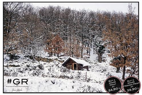 Snow Pelion Wood House