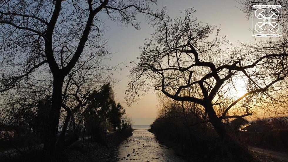 μέσα στο ποτάμι - Κάτω Λεχώνια - Πήλιο