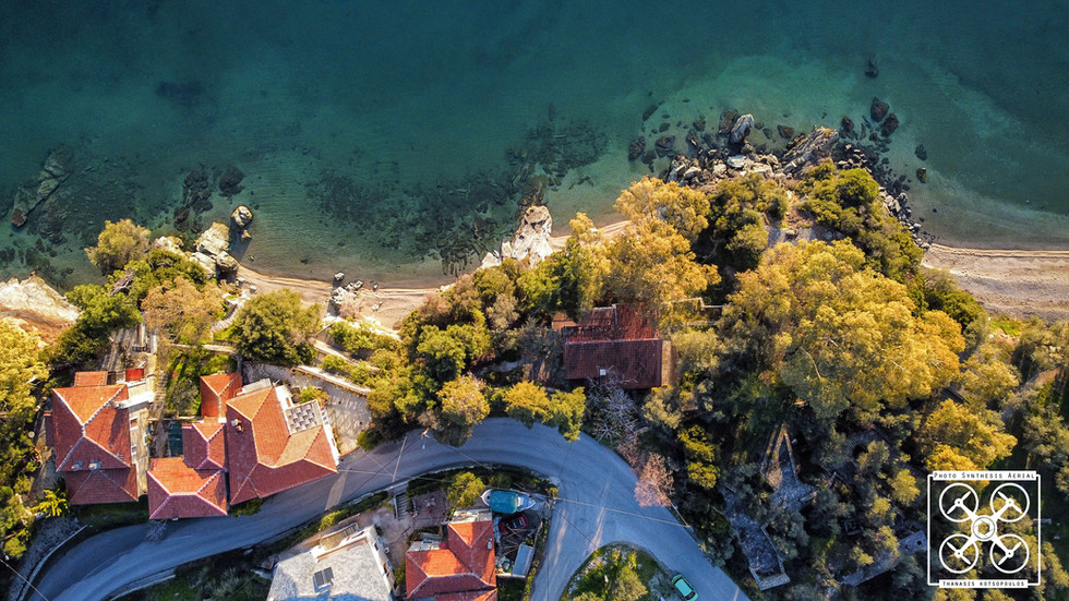 παραλία στην Αφησσο - Πήλιο