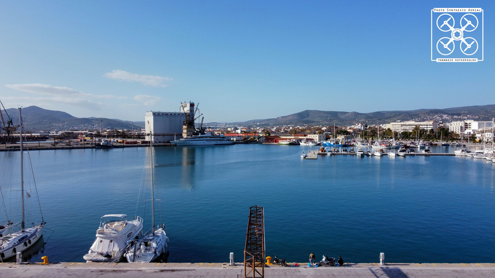 στο λιμάνι του Βόλου