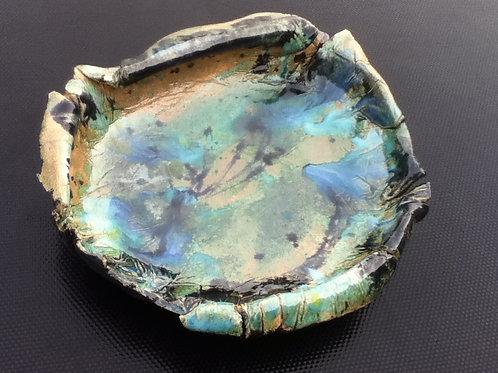 Large Glazed  Flat Dish