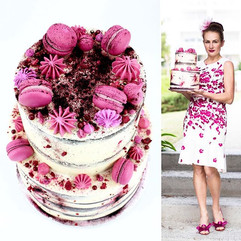 Cake 72 Pink for spring! Photo by _alyon