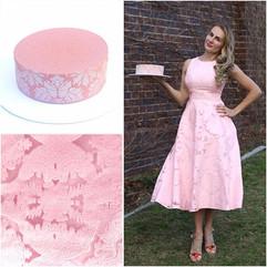 Cake 191 to match a new dress. It's plai