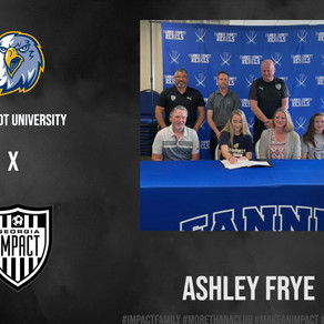 Ashley Frye Committed to the Collegiate Level