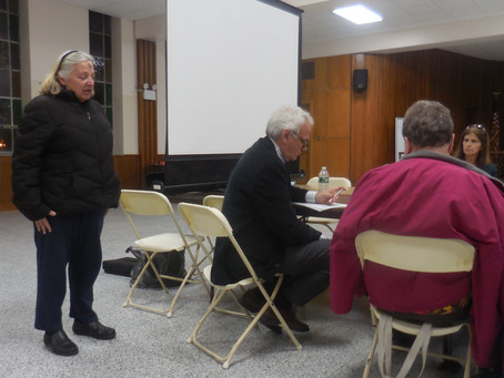 Geri Speaks Out at CB5 Meeting