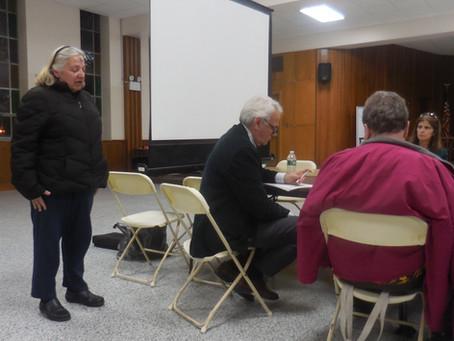 Geri Speaks Out at CB5 Meeting