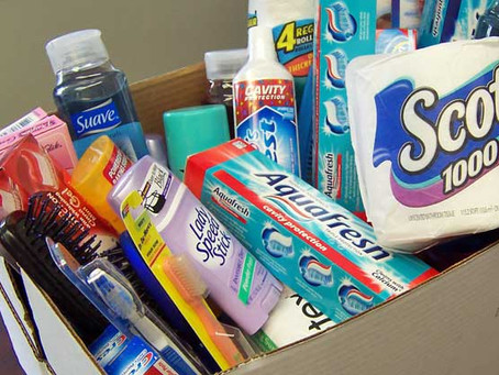 """Juniper Berry Magazine Spring 2019 Edition """"Toiletry Drive"""""""
