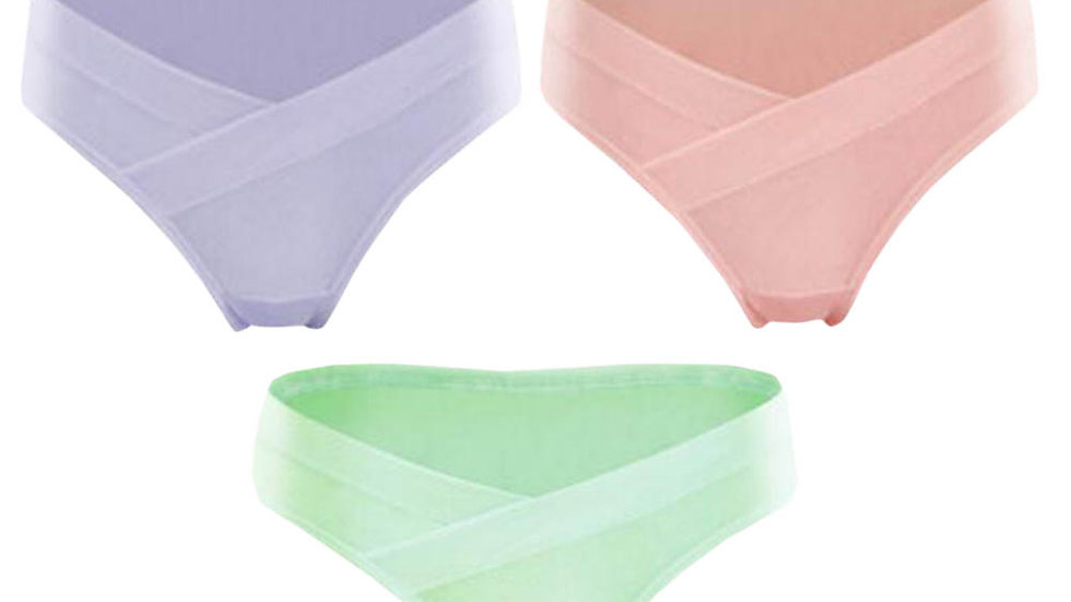 Cotton No Trace Maternity Underwear (3 Panties)