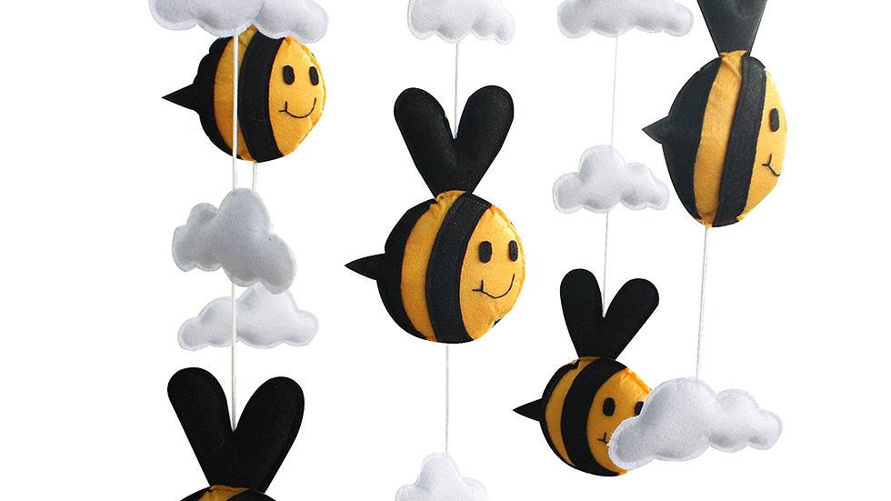 [Flying Bee] Musical Baby Mobile