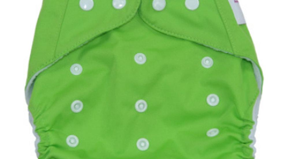 Green Cloth Diaper Cover