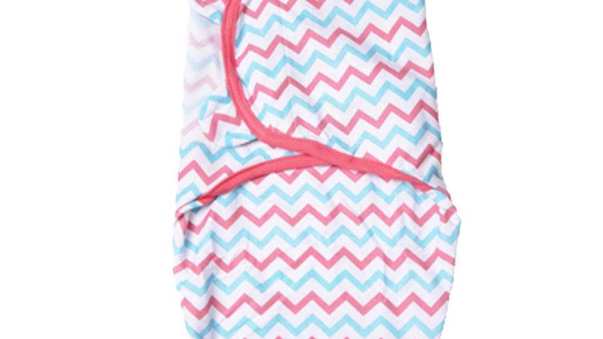 Pink and blue Swaddling Blanket