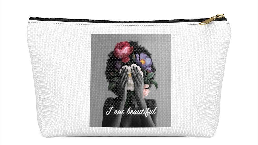 """I am beautiful"" accessory pouch"