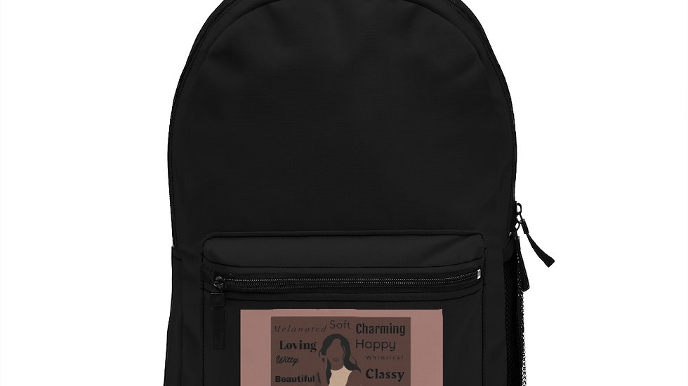 Black Woman Affirmations Backpack
