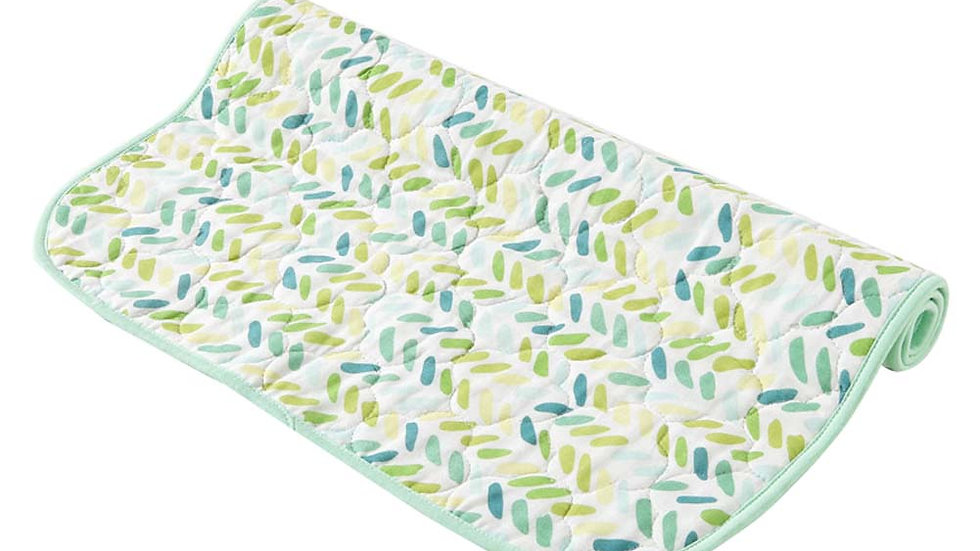 Light and Leafy Diaper Changing Mat