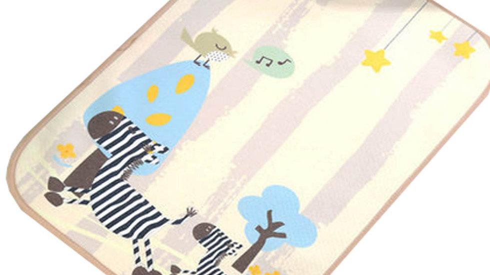 Zebra changing mat