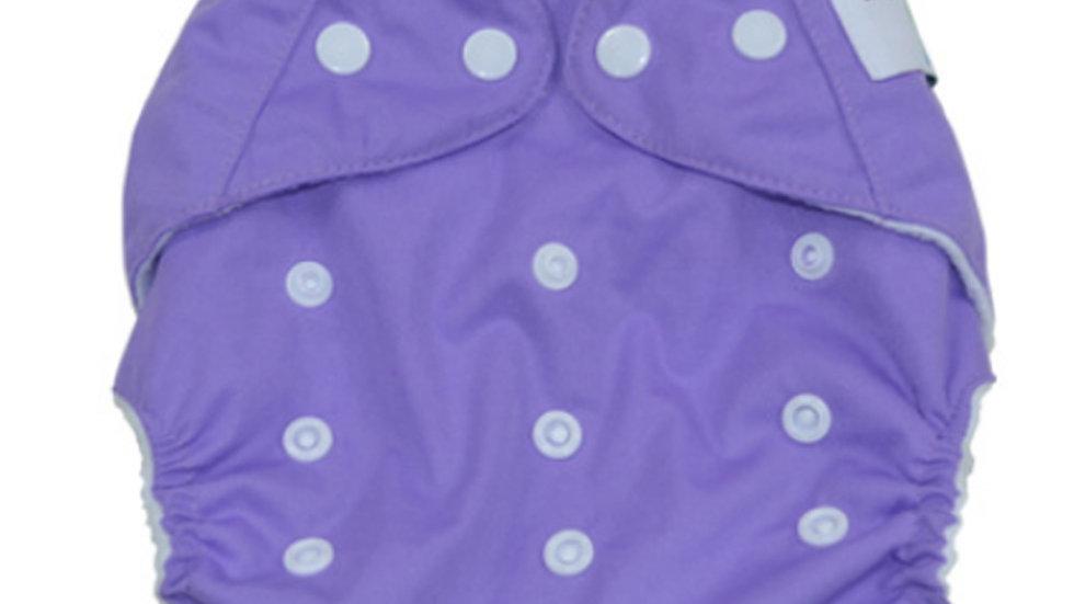 Purple Cloth Diaper Cover