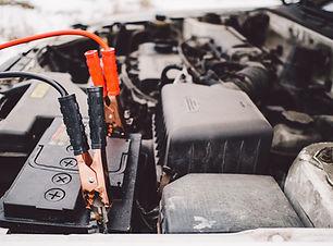 Auto batteria e Jumper Cables