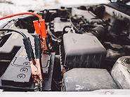 Cables de la batería del coche y de los
