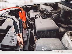 汽車電池和跨接電纜
