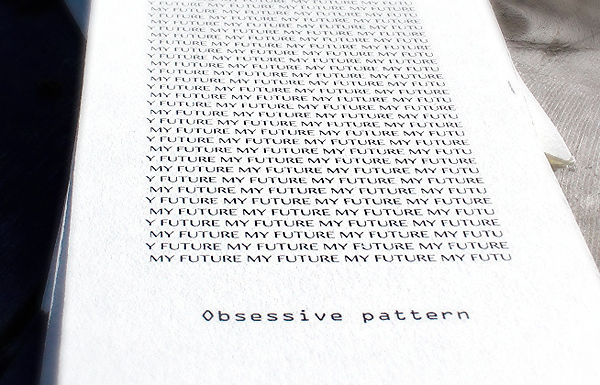 obsessive pattern words, deconstruclanguage, fragmented words, audio, spoken, written and muted words, lines of text, interlines, uca canterbury