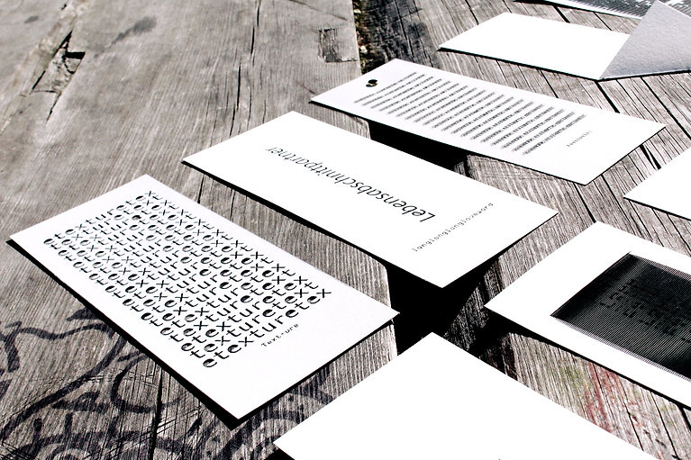 NO S NS  no sense, play on word, concrete poetry, language, interaction, letter font