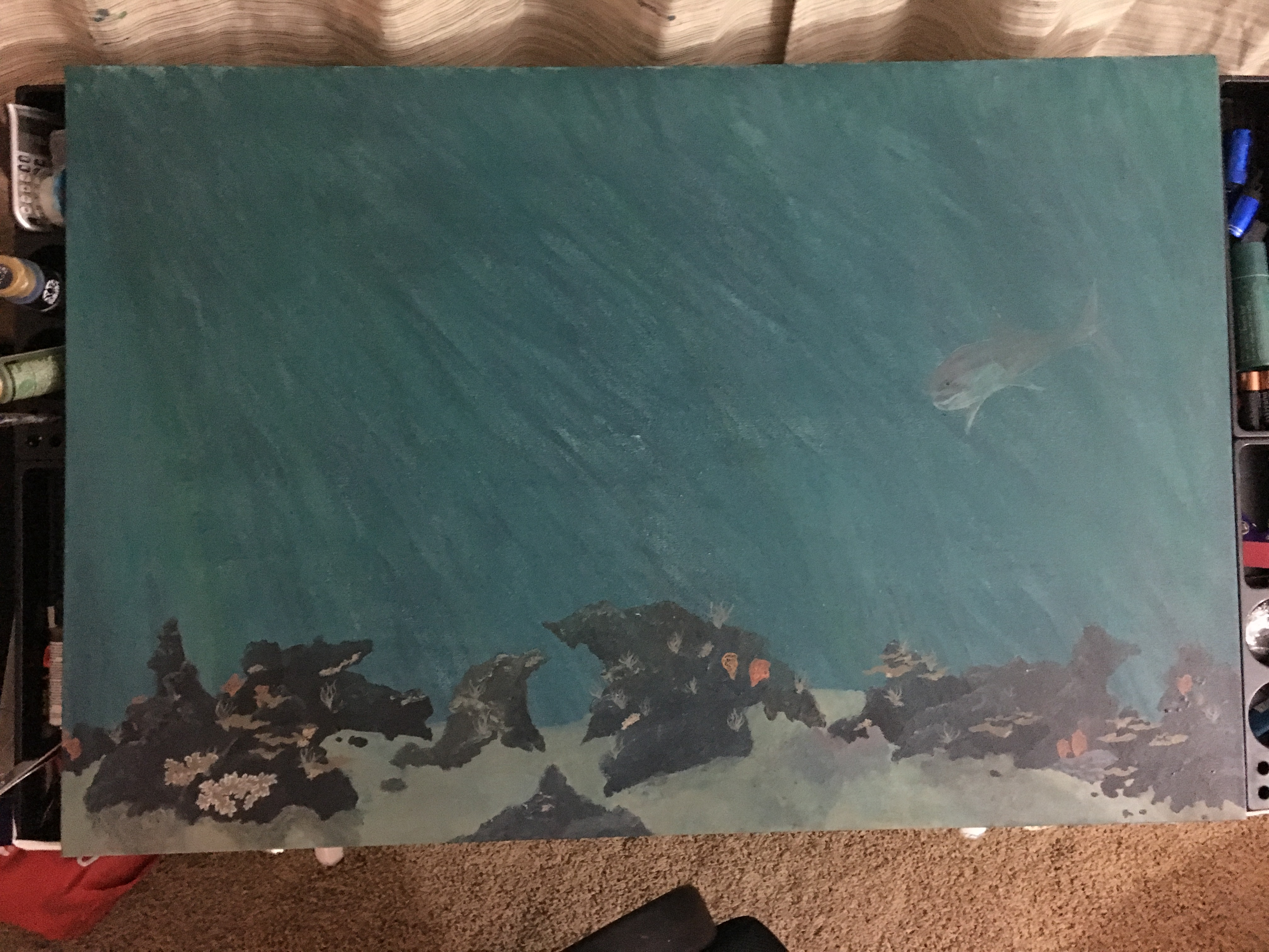 Adding the start of the coral