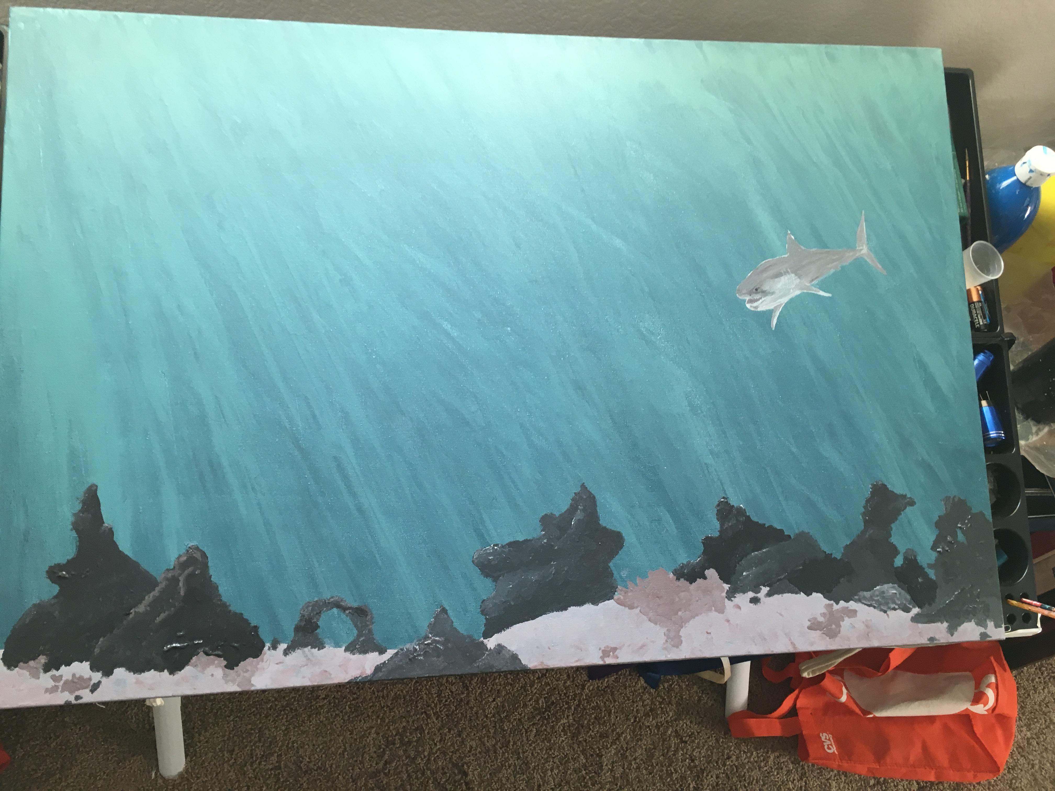 Back ground details of shark