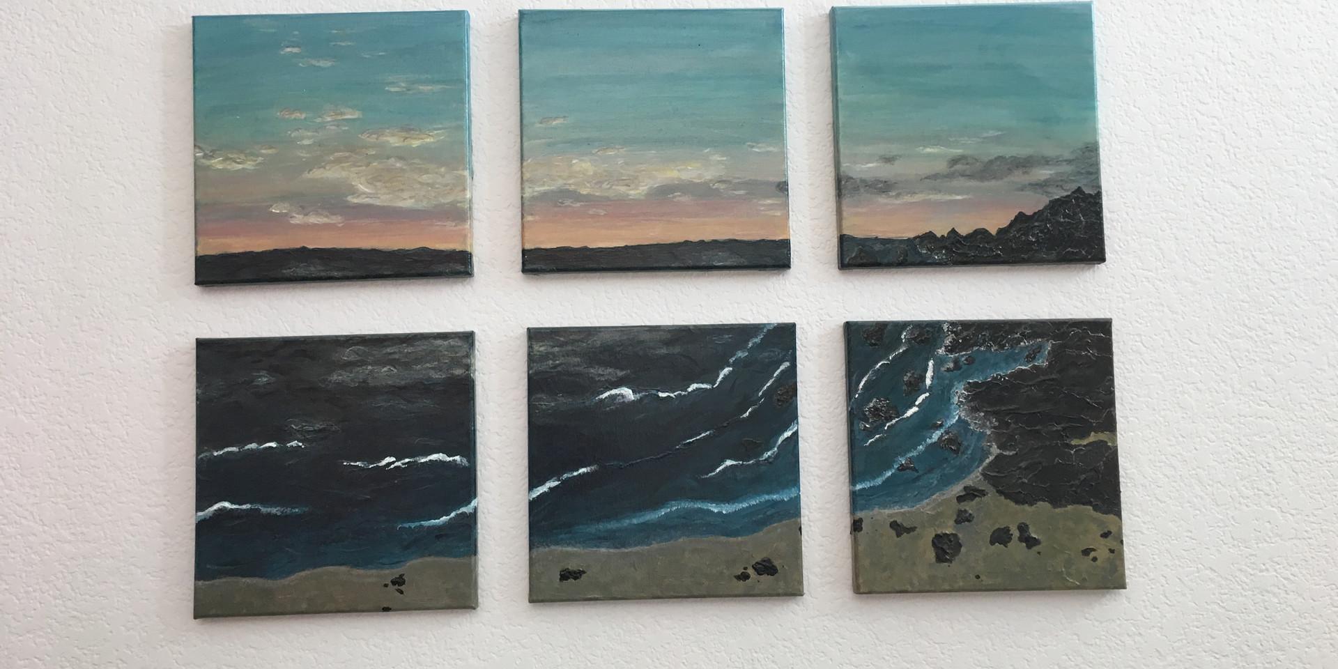 paintingocean side