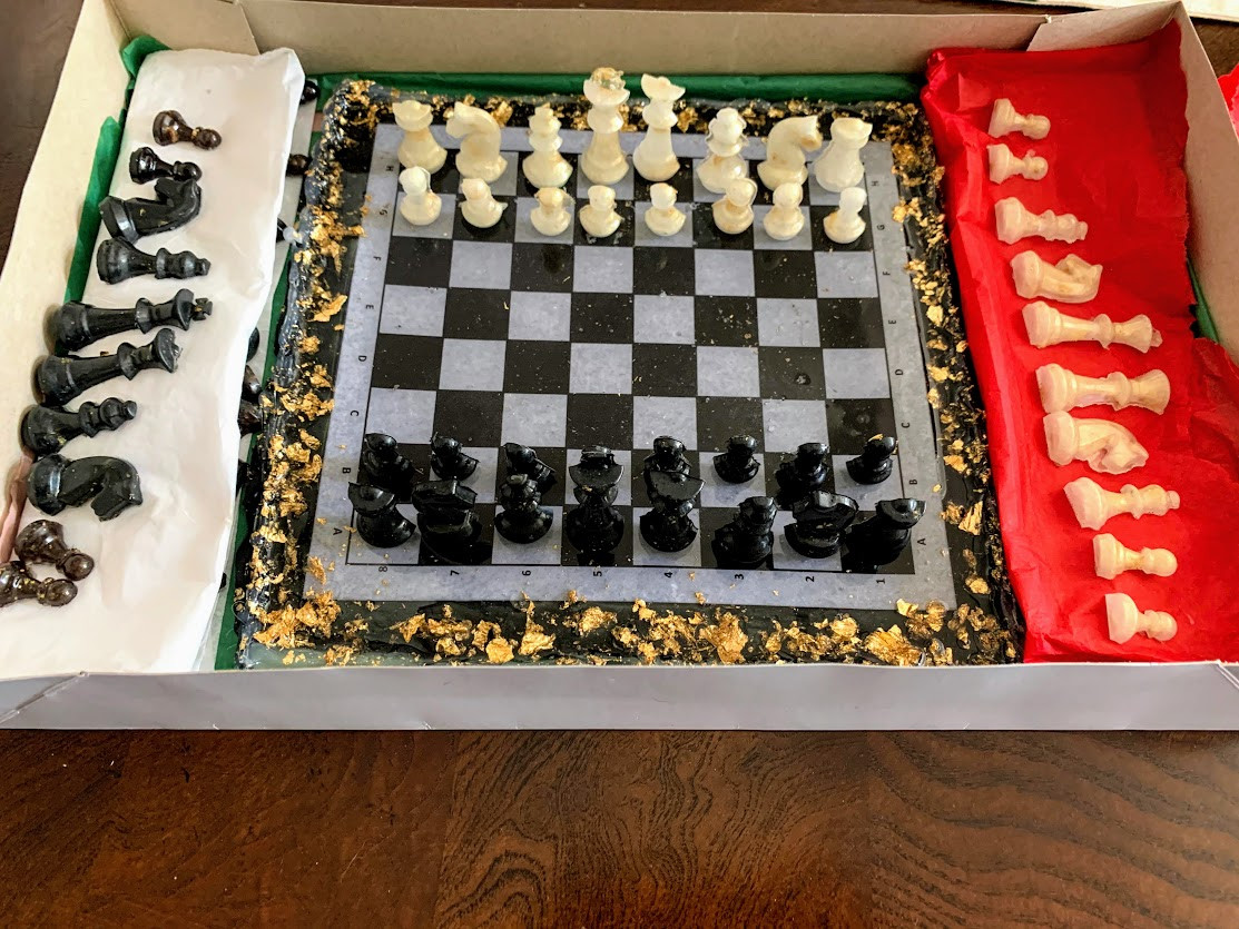 Chess set made from Resin