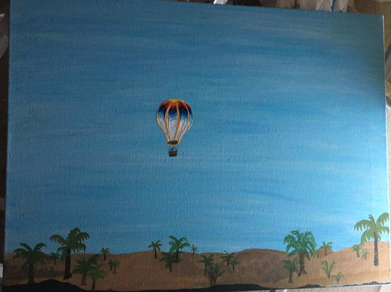 Egypt/Nile river Air balloon