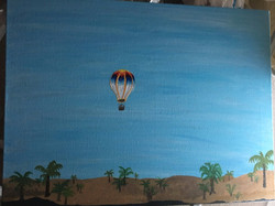 Egypt/Nile river Air balloon