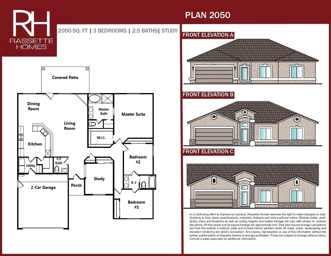 New Home Floor Plan 2050
