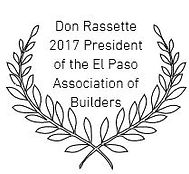 President of the el paso association of builders