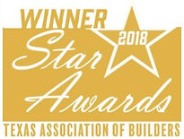 2018 Texas Association of Builder Star Award Winner