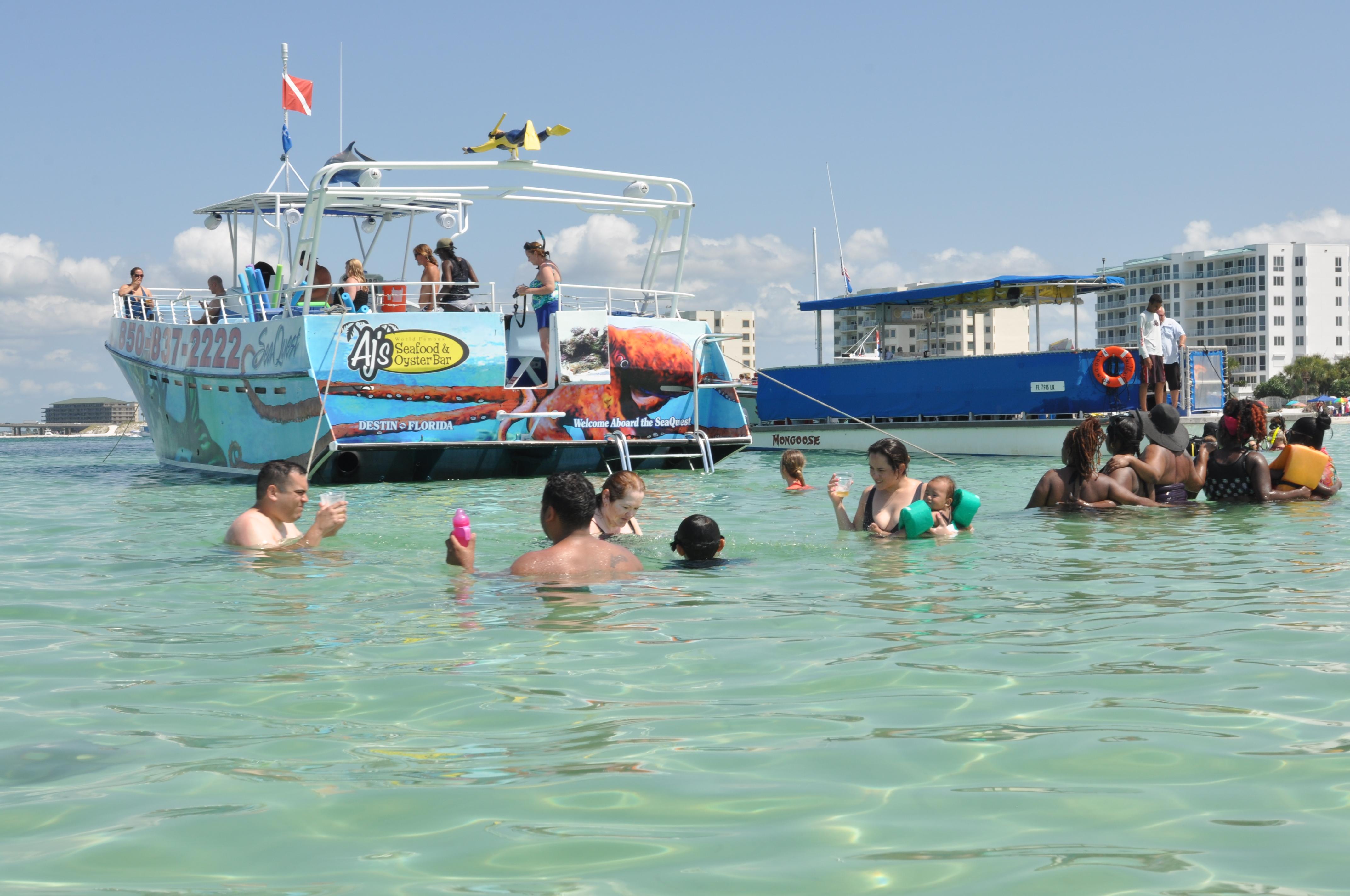 AJs Destin Snorkeling Cruise