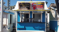 AJs Dolphin Tour Ticket Booth Destin