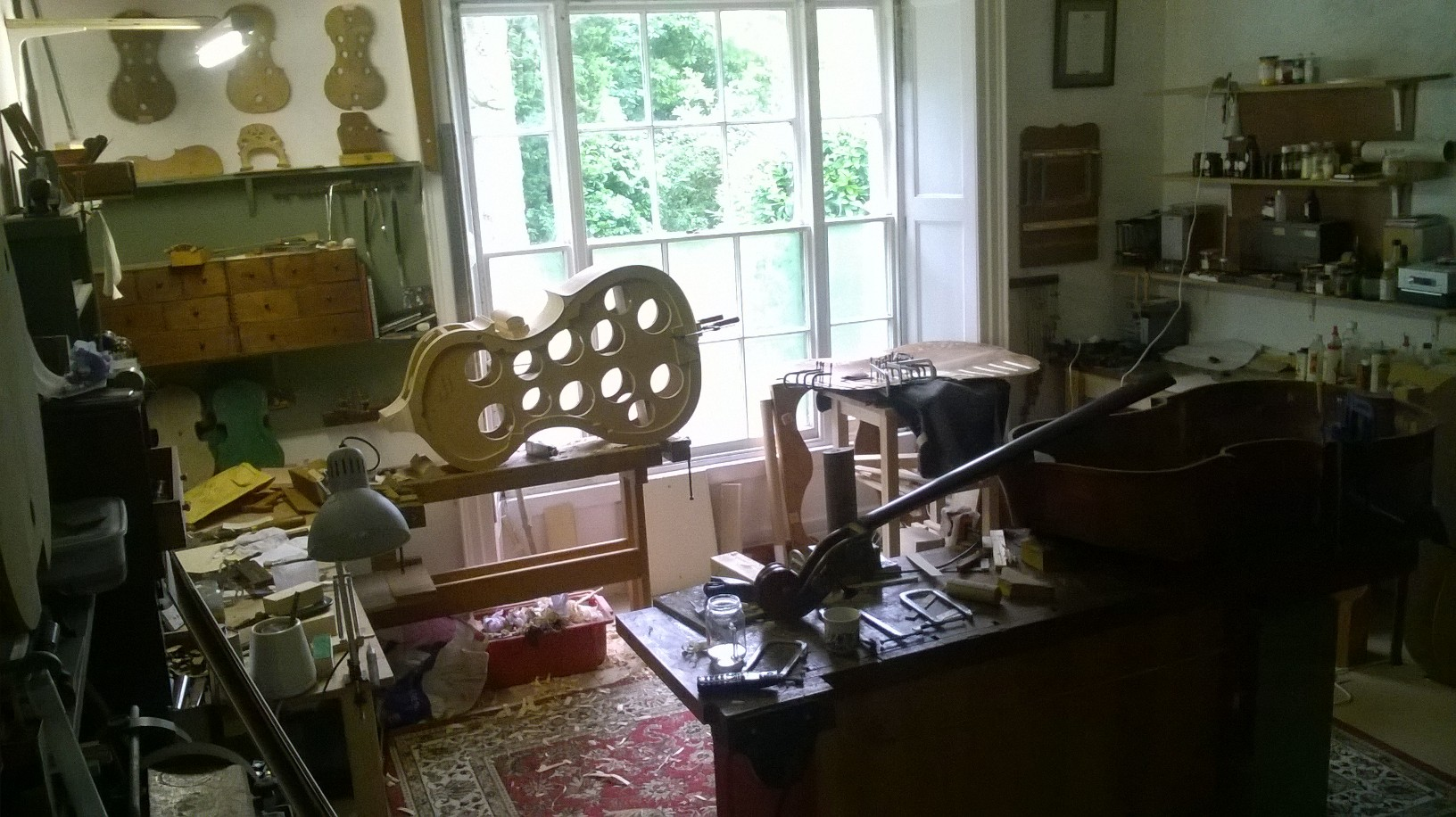 double bass workshop