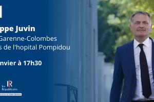 📌 Philippe Juvin en visioconférence avec Les Républicains 31 !