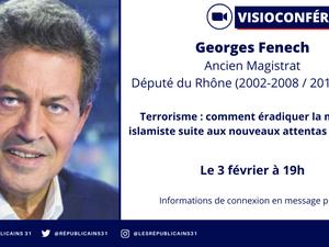 📌 Georges Fenech en visioconférence avec Les Républicains 31 !