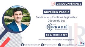 📌 Réunion Elections Régionales avec notre candidat Aurélien Pradié.