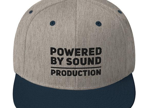 Typography Snapback Hat