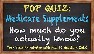 Medicare Pop Quiz