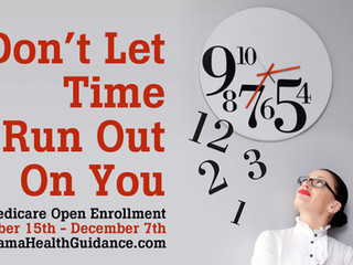 Open Enrollment... Oct. 15th - Dec. 7th