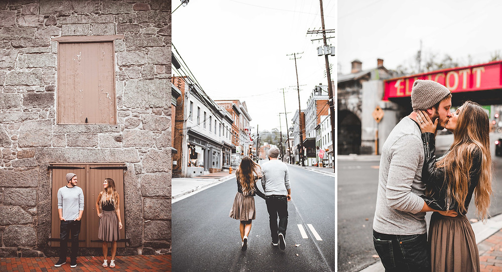 Ellicott City Maryland Engagement Photography