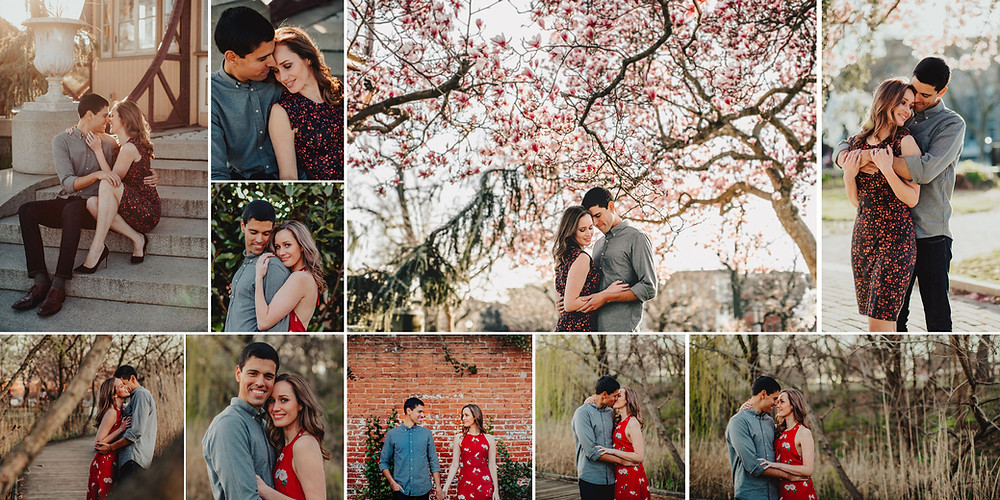 Patterson Park Engagement Session in Baltimore Maryland