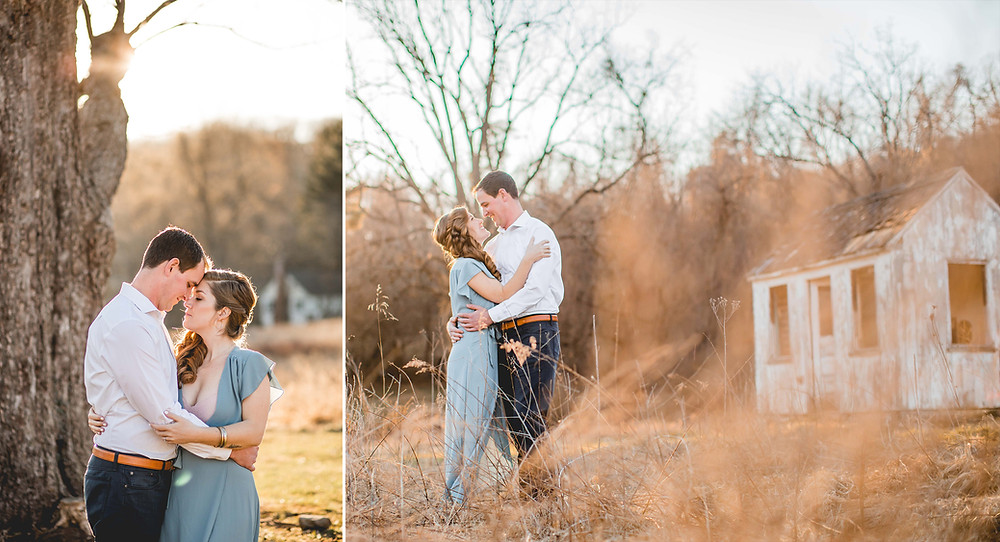 Cromwell Valley Park Maryland Engagement Photography