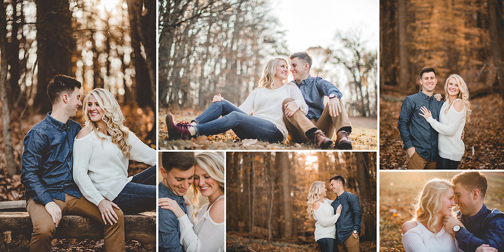 Oregon Ridge Park Maryland Engagement Session
