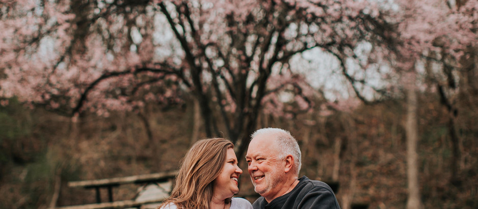 Lori + John | Oregon Ridge Engagement Session