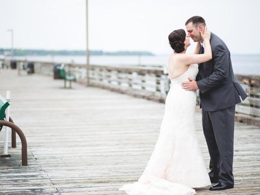 Cindy + Eric  Soloman's Island Wedding