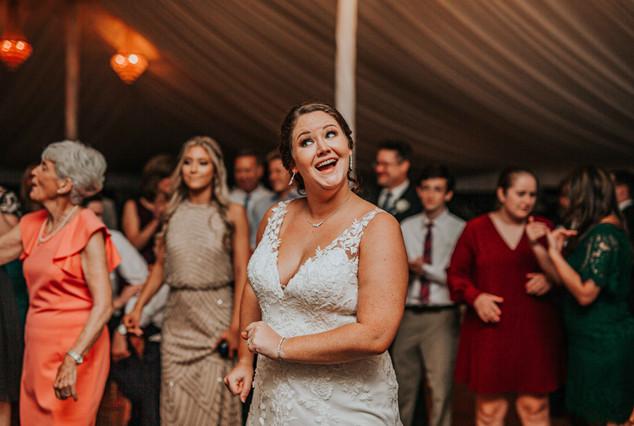 Wedding Reception at Belmont Manor near Baltimore Maryland